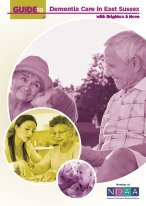 Guide to dementia care East Sussex